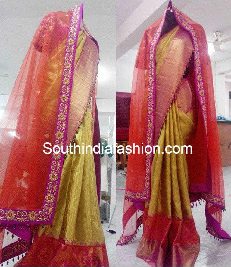 gold_kanjeevaram_wedding_saree