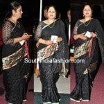 Jayasudha in Black Saree