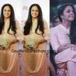 Jyothika at South Filmfare Awards 2015