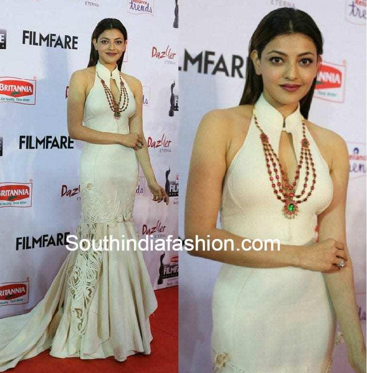 Kajal Aggarwal at Filmfare Awards South 2015