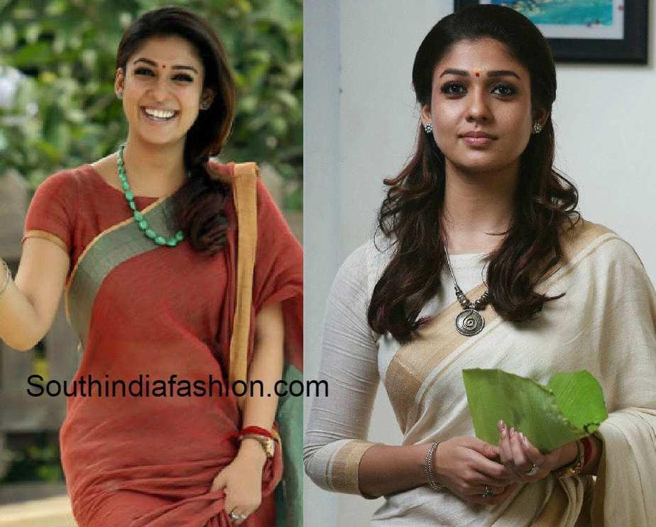 nayanthara_Blouse_designs_in_bhaskartherascal