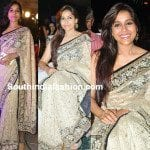 Rashmi Gautam in Lace Saree