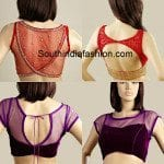 Trendy Net Readymade Blouses