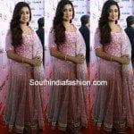 Shreya Ghoshal in Pink Anarkali