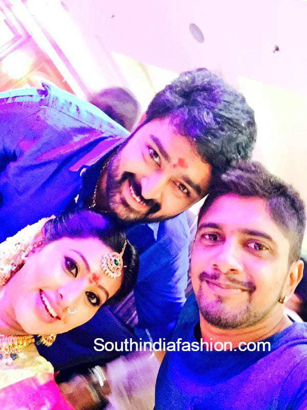 Sneha S Baby Shower Seemantham Function South India