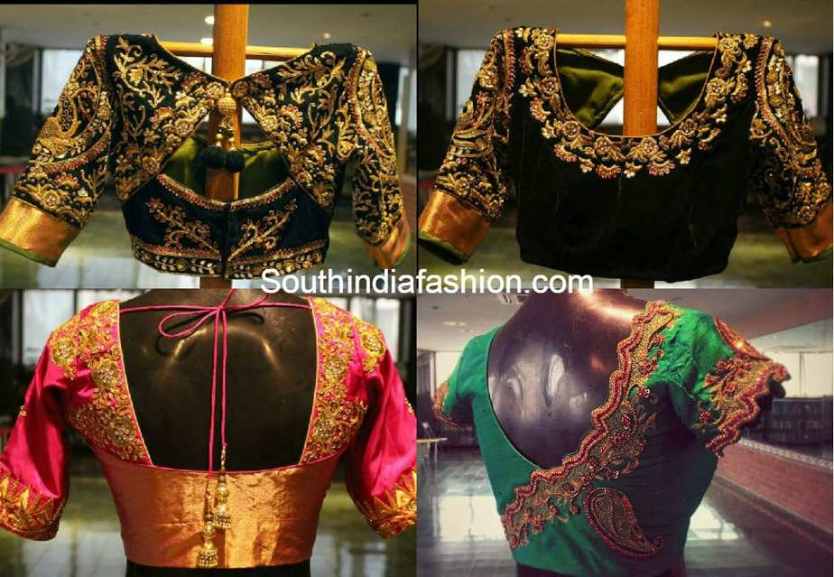 wedding_saree_blouse_designs