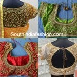 Beautiful Designer Saree Blouses