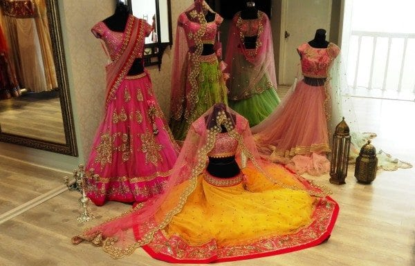 16 stores for designer bridal wear in Hyderabad - South
