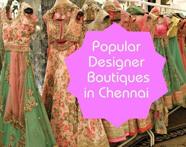 Designer Boutiques In Chennai