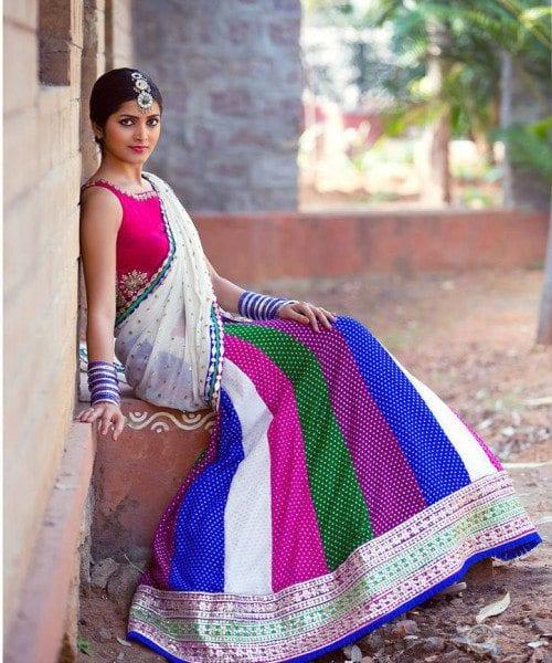 bhargavi_kunam_half_saree
