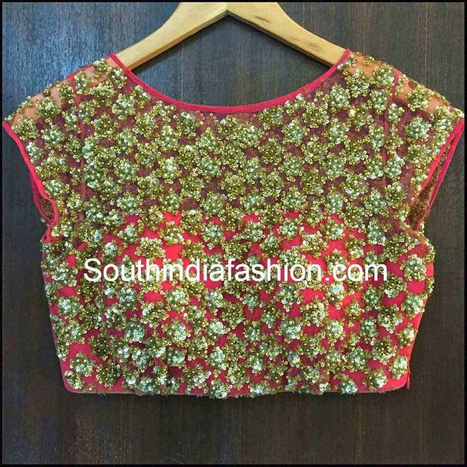 Boat neck blouse designs top 10 boat neck patterns for Net designs