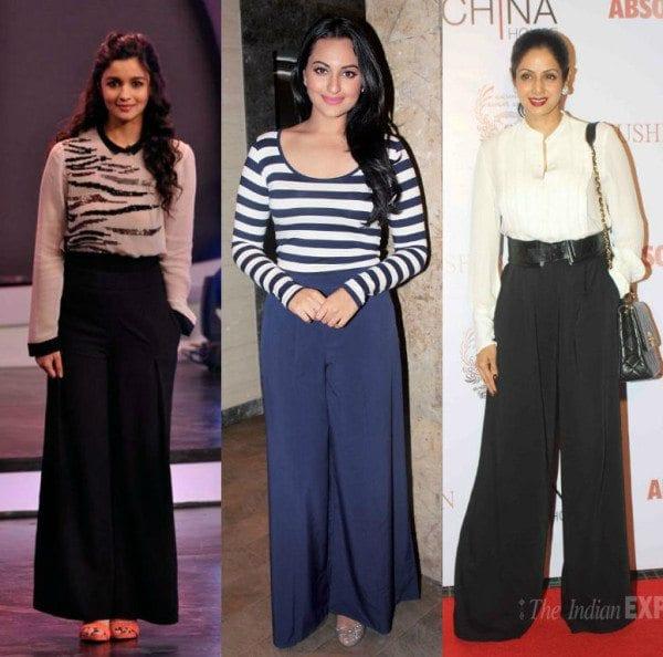10 Super Cool Ways To Wear Palazzo Pants South India Fashion