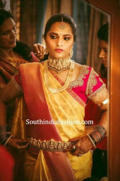 bride_gold_kanjeevaram_saree