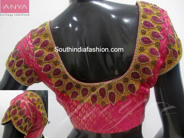 brocade_maggam_work_blouse