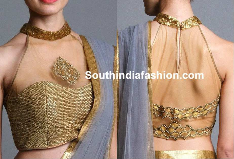 Indian Halter Neck Blouse 26