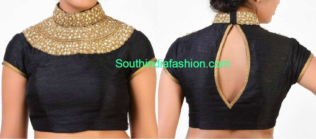 high_neck_blouse (1)