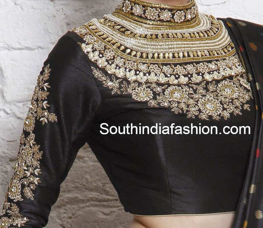 high_neck_maharani_blouse (1)