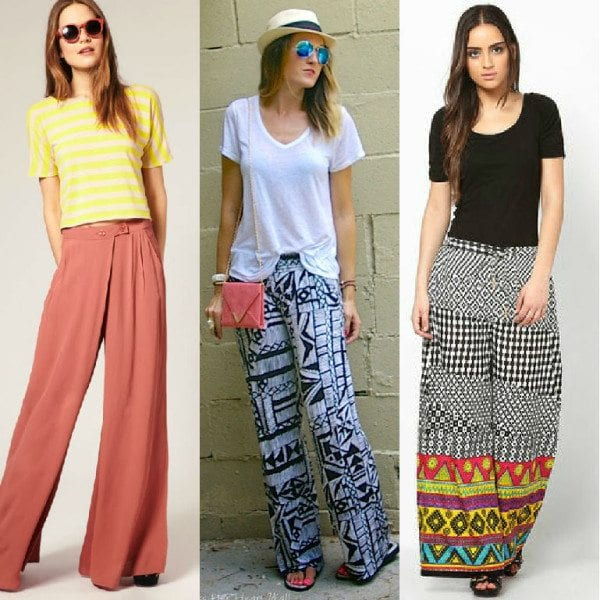 902d6284a0 10 Super Cool Ways To Wear Palazzo Pants – South India Fashion