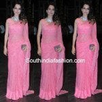 Kangana Ranaut in Pink Saree