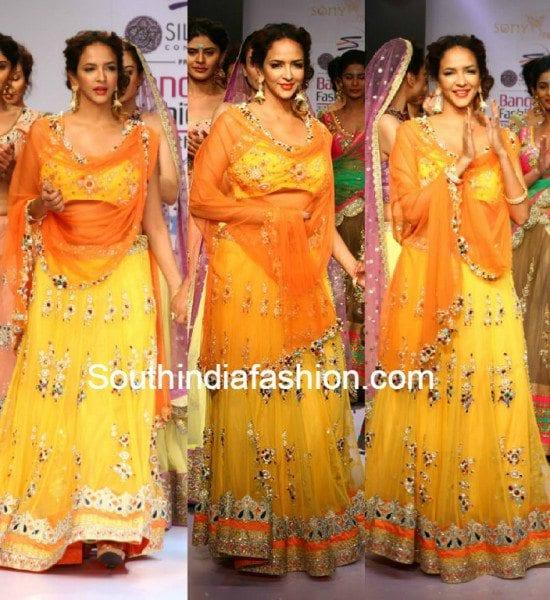 lakshmi_manchu_in_yellow_sonyreddy_lehenga