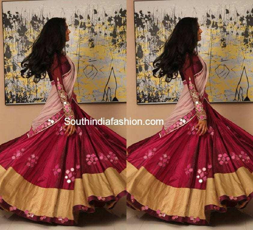 latest half sarees