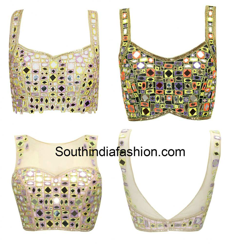 Mirror Work Blouses Online India 50