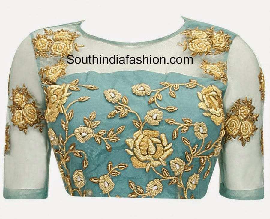 Boat Neck Blouse Designs Top 10 Boat Neck Patterns