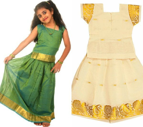 recycle_old_sarees_to_kids_lehengas