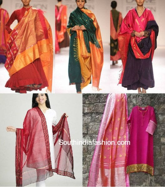recysle_old_sarees_to_dupattas