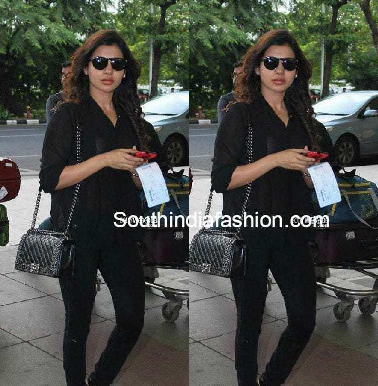 samantha_prabhu_at_airport