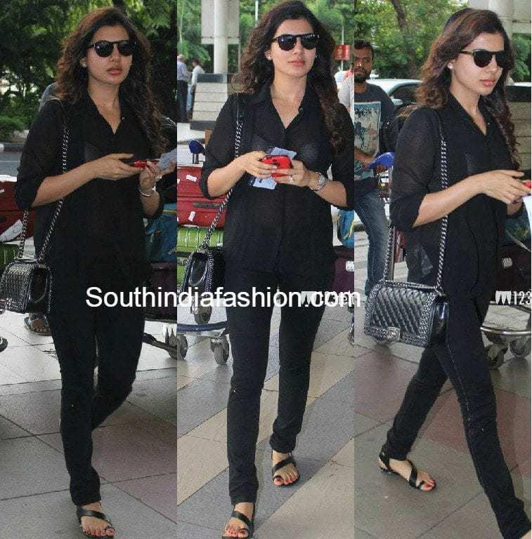 samantha_prabhu_at_mumbai_airport