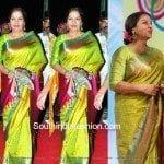 Shabana Azmi in Kanjeevaram Saree