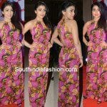 Shriya Saran in Printed Jumpsuit