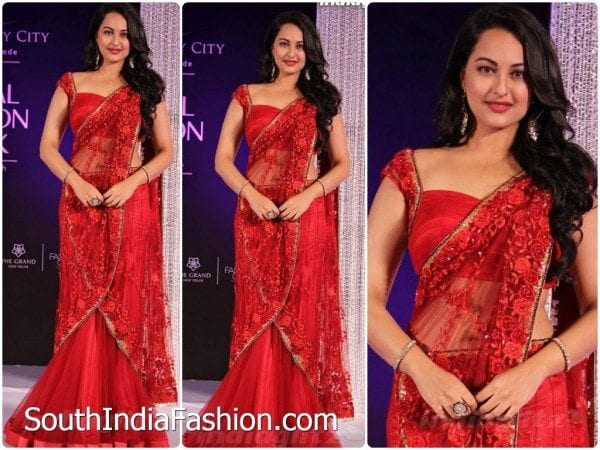 sonakshi_sinha_red_half_saree