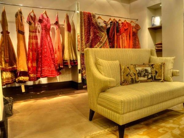 Inside Tarun Tahiliani Store, Hyderabad
