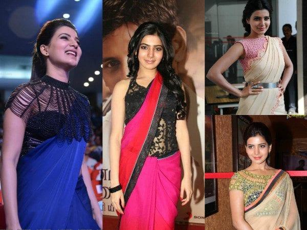 Samanthas blouse designs