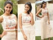 Lavanya tripathi in crop top and palazzo pants