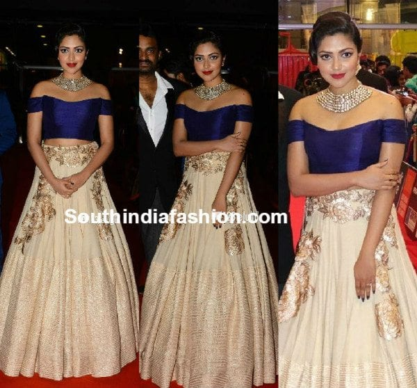 Amala Paul in Manish Malhotra