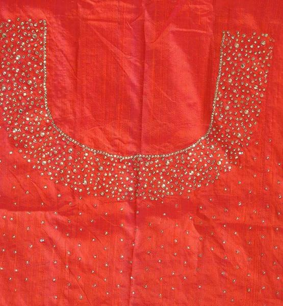 blouse_piece_kundan_work