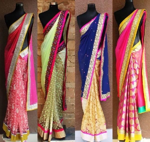 5 Easy Design It Yourself Diy Saree Ideas South India Fashion