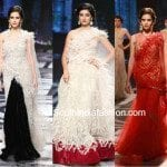 Designer Lehengas at Hyderabad Fashion Week