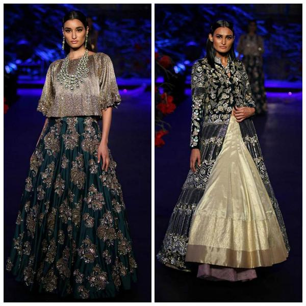 Manish Malhotra\'s stunning \'Empress story\' collection at the ICW 2015