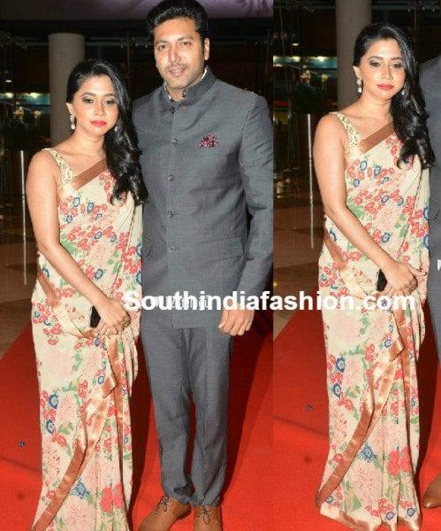 Jayam Ravi Wife Aarthi In Sabyasachi Saree South India Fashion See more of sabyasachi on facebook. jayam ravi wife aarthi in sabyasachi