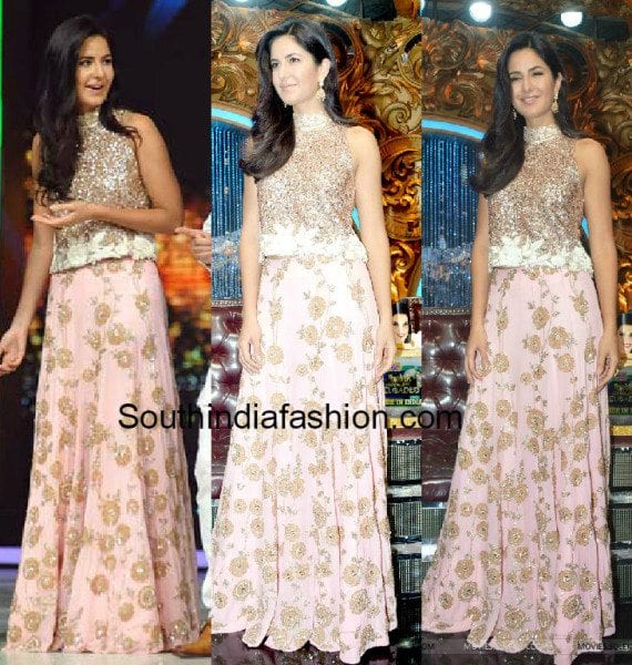 katrina kaif in manish malhotra lehenga �south india fashion
