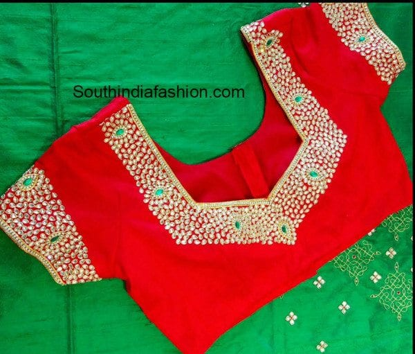 kundan_work_blouse