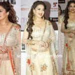 Madhuri Dixit in Mirror Work Lehenga