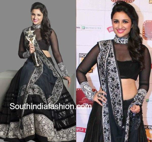 parineeti_chopra_black_lehenga_full_sleeves_blouse