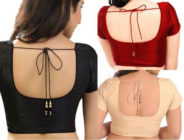 plain_saree_blouse_10_must_have_blouse_designs