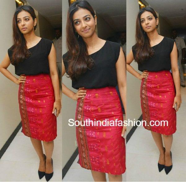 radhika_apte_silk_saree_skirt