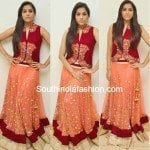 Rashmi Gautam in Mirror Work Lehenga
